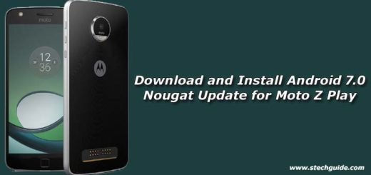 Download and Install Android 7.0 Nougat Update for Moto Z Play