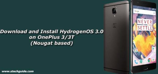 Download and Install HydrogenOS 3.0 on OnePlus 3/3T