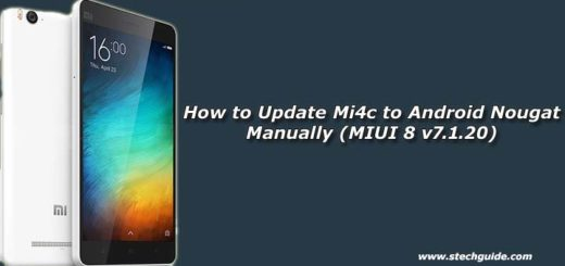 How to Update Mi4c to Android Nougat Manually (MIUI 8 v7.1.20)