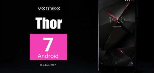 Vernee Thor Nougat Update