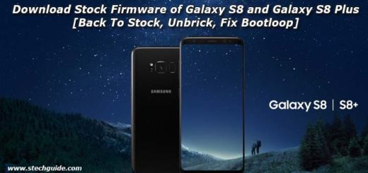 Download Stock Firmware of Galaxy S8 and Galaxy S8 Plus [Back To Stock, Unbrick, Fix Bootloop]