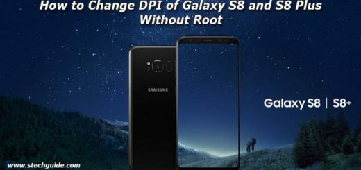 How to Change DPI of Galaxy S8 and S8 Plus Without Root