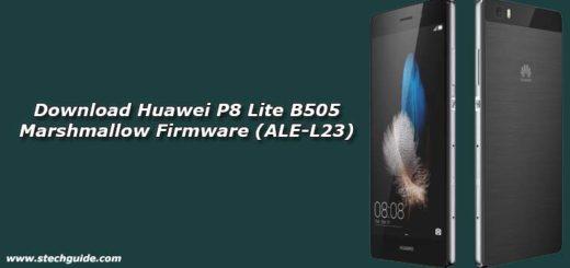 Download Huawei P8 Lite B505 Marshmallow Firmware (ALE-L23)