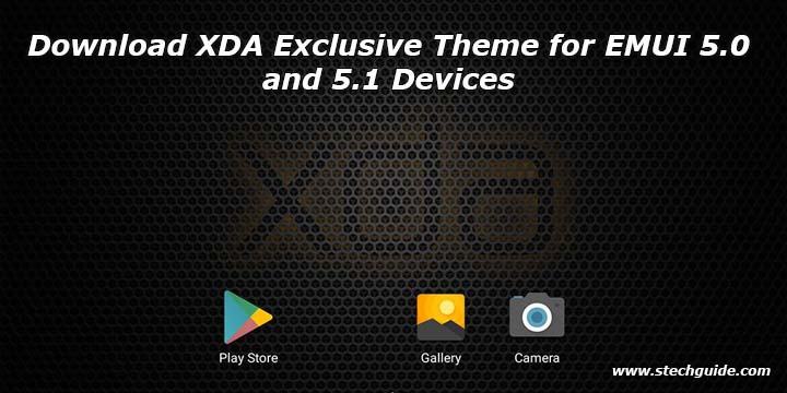 Download XDA Exclusive Theme for EMUI 5.0 and 5.1 Devices