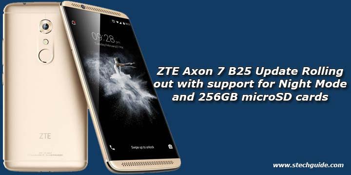 Zte axon 7 software update