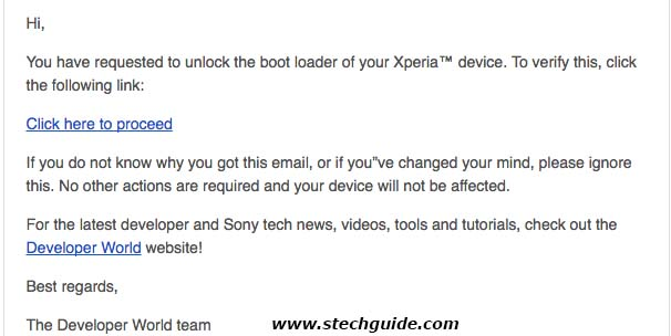 How to Unlock Bootloader of Xperia Devices