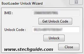 Xperia Bootloader Unlock Wizard