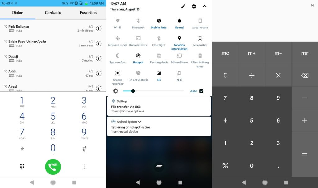 Download Android 8 0 Oreo Theme for EMUI 5 x and EMUI 4 x Devices