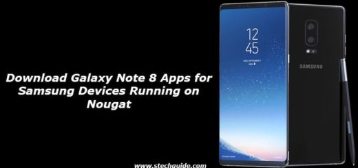 Download Galaxy Note 8 Apps for Samsung Devices Running on Nougat