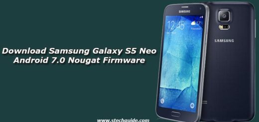 Download Samsung Galaxy S5 Neo Android 7.0 Nougat Firmware