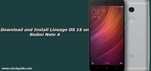 Download and Install Lineage OS 15 on Redmi Note 4