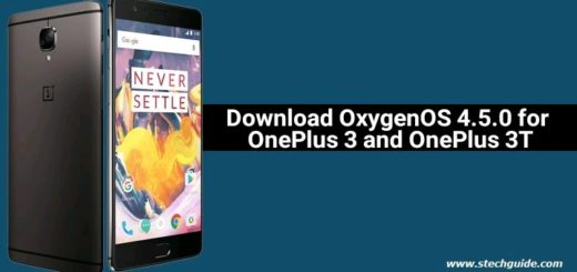 Download OxygenOS 4.5.0 for OnePlus 3 and OnePlus 3T
