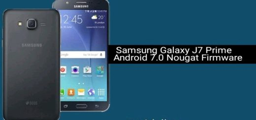 Samsung Galaxy J7 Prime Android 7.0 Nougat Firmware