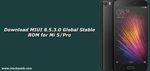 Download MIUI 8.5.3.0 Global Stable ROM for Mi 5/Pro