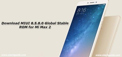 Download MIUI 8.5.8.0 Global Stable ROM for Mi Max 2