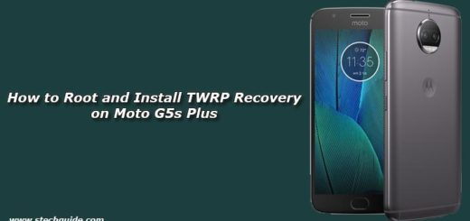 How to Root and Install TWRP Recovery on Moto G5s Plus