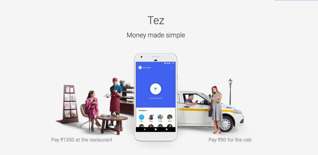Download Google Tez Mobile Payments App for India