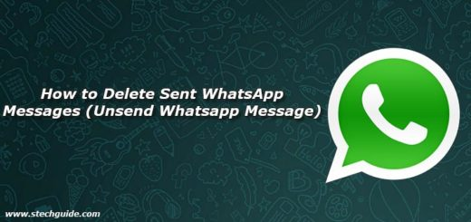 How to Delete Sent WhatsApp Messages (Unsend Whatsapp Message)