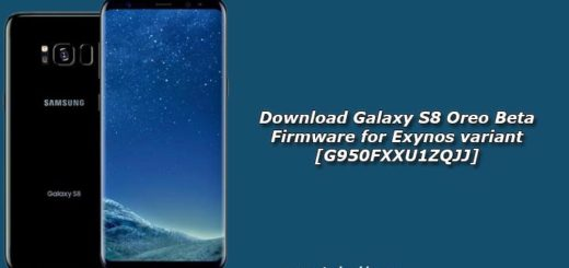 Download Galaxy S8 Oreo Beta Firmware for Exynos variant [G950FXXU1ZQJJ]