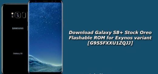 Download Galaxy S8+ Stock Oreo Flashable ROM for Exynos variant [G955FXXU1ZQJJ]