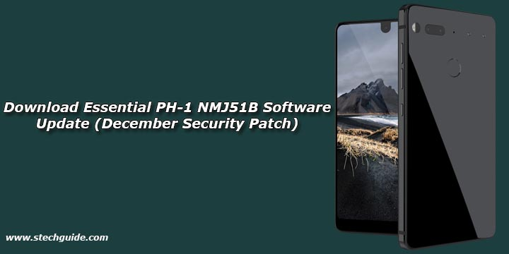 Download Essential PH-1 NMJ51B Software Update (December Security Patch)