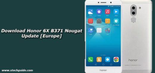 Download Honor 6X B371 Nougat Update [Europe]