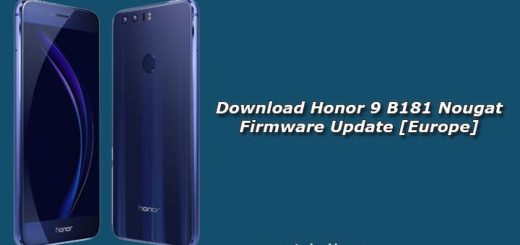 Download Honor 9 B181 Nougat Firmware Update [Europe]