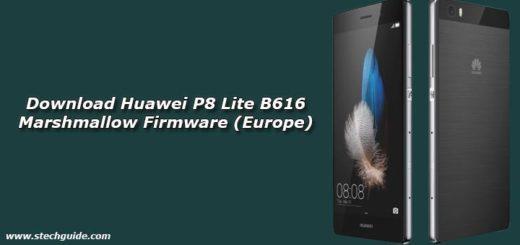 Download Huawei P8 Lite B616 Marshmallow Firmware (Europe)
