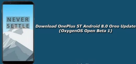 Download OnePlus 5T Android 8.0 Oreo Update (OxygenOS Open Beta 1)