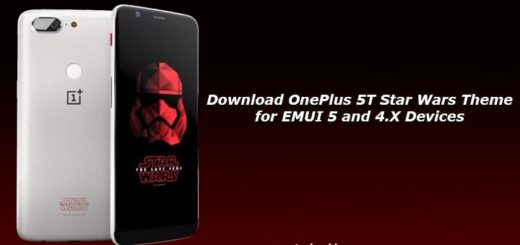 Download OnePlus 5T Star Wars Theme for EMUI 5 and 4.X Devices