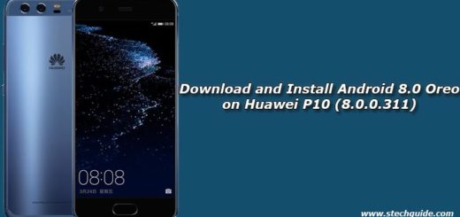 Download and Install Android 8.0 Oreo on Huawei P10 (8.0.0.311)