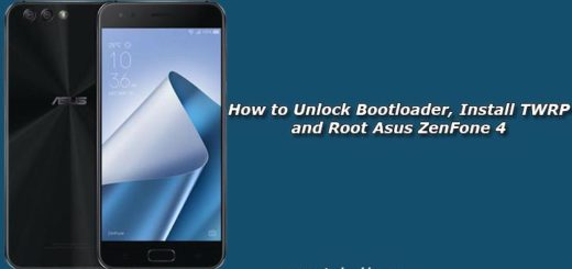 How to Unlock Bootloader, Install TWRP and Root Asus ZenFone 4