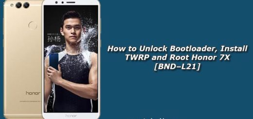 Install TWRP and Root Honor 7X [BND–L21]
