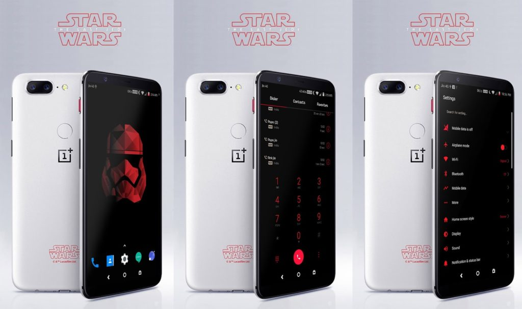 OnePlus 5T Star Wars Theme