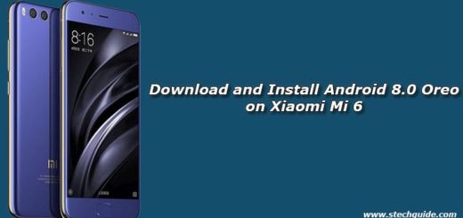 Download and Install Android 8.0 Oreo on Xiaomi Mi 6