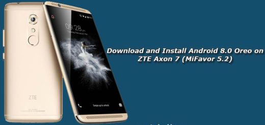 Download and Install Android 8.0 Oreo on ZTE Axon 7 (MiFavor 5.2)