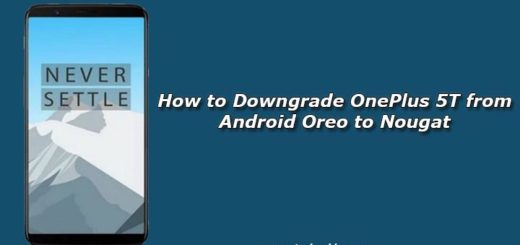 How to Downgrade OnePlus 5T from Android Oreo to Nougat