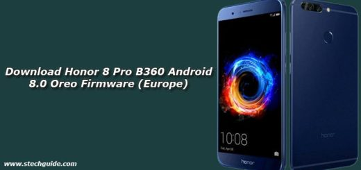 Download Honor 8 Pro B360 Android 8.0 Oreo Firmware (Europe)