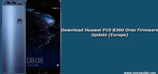 Download Huawei P10 B360 Oreo Firmware Update (Europe)