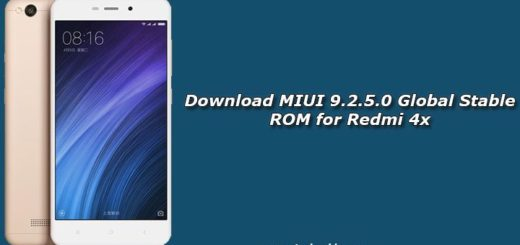 Download MIUI 9.2.5.0 Global Stable ROM for Redmi 4x
