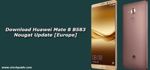 Download Huawei Mate 8 B583 Nougat Update [Europe]