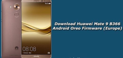 Download Huawei Mate 9 B366 Android Oreo Firmware (Europe)