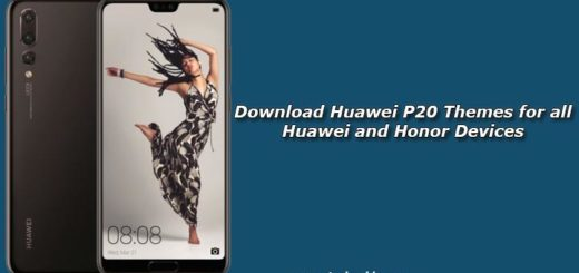 Download Huawei P20 Themes for all Huawei and Honor Devices