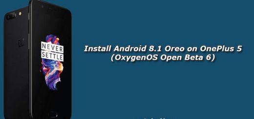 Install Android 8.1 Oreo on OnePlus 5 (OxygenOS Open Beta 6)