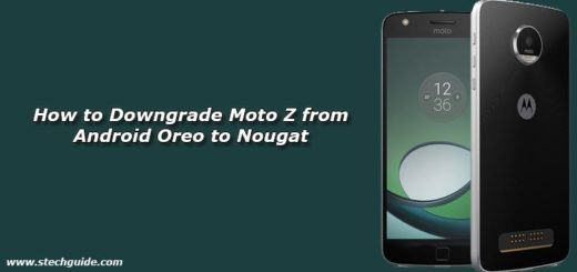 Download Moto Z Play OPN27.76-12-22 Oreo OTA Update [April Security Patch]