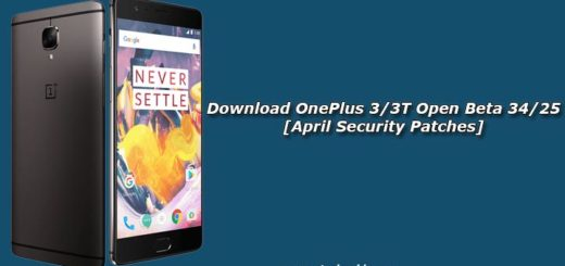 Download OnePlus 3/3T Open Beta 34/25 [April Security Patches]