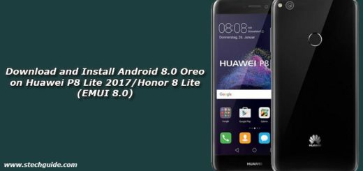 Download and Install Android 8.0 Oreo on Huawei P8 Lite 2017/Honor 8 Lite (EMUI 8.0)