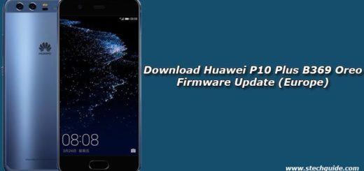 Download Huawei P10 Plus B369 Oreo Firmware Update (Europe)
