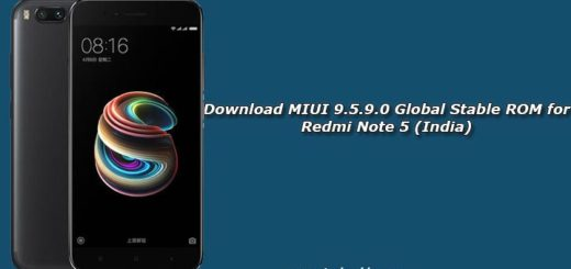 Download MIUI 9.5.9.0 Global Stable ROM for Redmi Note 5 (India)
