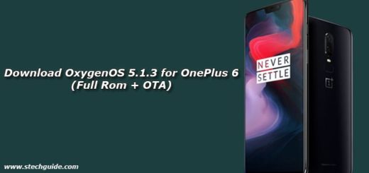 Download OxygenOS 5.1.3 for OnePlus 6 (Full Rom + OTA)